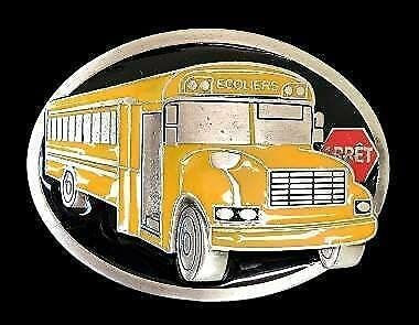 Autobus D'ecole Ecolier French School At the price of High order surprise Bus Profession Belt Driver