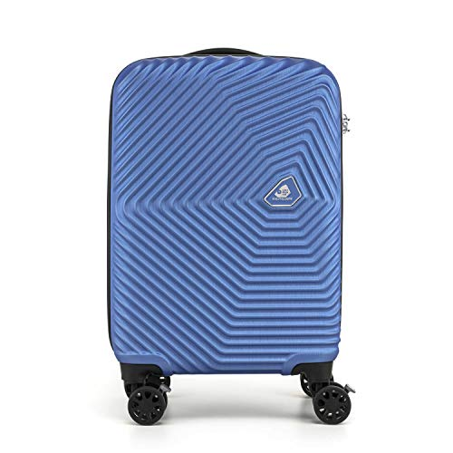[カメレオン] スーツケース キャリーケース 公式 カミ サンロクマル Spinner 55/20 TSA 機内持ち込み可 保証付 34L 55 cm 2.8kg スカイブルー