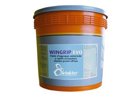 WINGRIP EVO Ponte d'aggrappo universale a rapida asciugatura elastico e pronto all'uso - secchio da 5 kg.