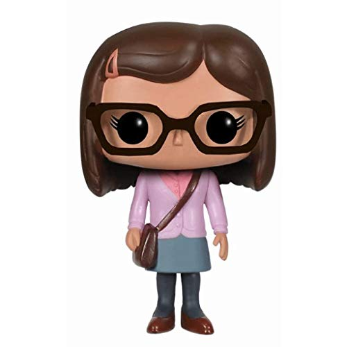 Lotoy Funko Pop Television : The Big Bang Theory - Amy Farrah Fowler 3.75inch Vinyl Gift for TV Fans (Without Box) Model