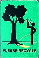 ヒッピーはバックを使用します メタルポスタレトロなポスタ安全標識壁パネル ティンサイン注意看板壁掛けプレート警告サイン絵図ショップ食料品ショッピングモールパーキングバークラブカフェレストラントイレ公共の場ギフト