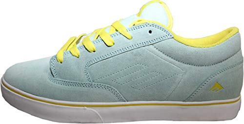 Emerica Skateboard Schuhe Jinx SMU Light Blue - Sneaker Sneakers Skateboard Shoes, Schuhgrösse:38.5