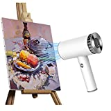 Hair Dryer, with 2 Heat Settings,USB Rechargeable,Cordless Hair Dryer,for Travel Art Painting Home...