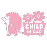 imoninn CHILD in car ステッカー 【パッケージ版】 No.62 花屋のハリさん (ピンク色)