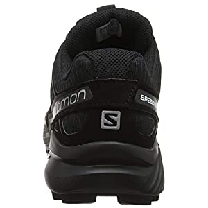 Salomon Men's Speedcross 4 Trail Running, Black/Black/Black Metallic, 8.5