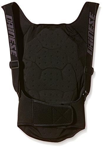 Dainese, Kinder Skiprotektor Rückenprotektor Back Protector Soft Flex, Schwarz (Black/Orange), M