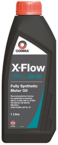 Comma XFLL1L X-Flow Type LL 5W-30 synthetische motorolie 1 L