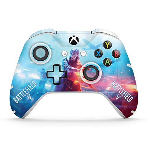 Skin Adesivo para Xbox One Slim X Controle - Battlefield V