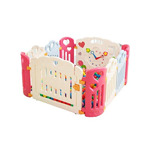 Great Price! LXJJGF Children's Railings, Baby and Baby Fence Panels and Activity Panels (Color : A)
