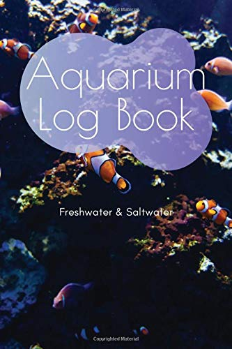 Aquarium Log Book: A5 Fish Tank Logbook | Aquarium Maintenance Notebook | Saltwater Tank | Freshwater Aquarium | Seawater Aquarium | Gift for Fishkeepers and Aquarists