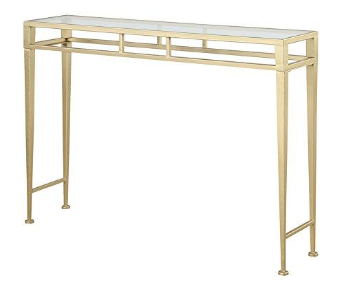 Convenience Concepts Gold Coast Julia Hall Console Table, Gold
