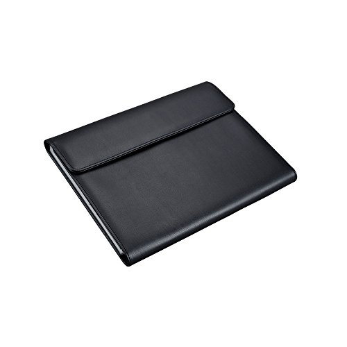 Alassio 31511 - Fächermappe Vado mit 12 Fächern, DIN A4, ca. 33 x 26 x 4 cm, schwarz, aus Lederimitat