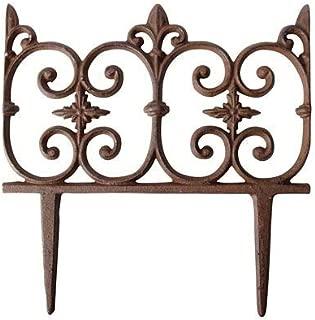 Best cast iron edging & border fence Reviews