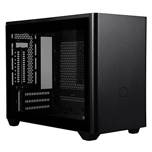 Cooler Master MasterBox NR200P ブラック Mini-ITX/DTX PCケース 強化ガラスパネル付属 SFX電源対応 CS790...