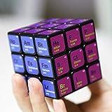 Speed Cube 3x3x3 Elementos químicos Periódico Suave Cubo mágico Rompecabezas Juguete Puzzles de impresión Juguete Juguetes educativos Juego de rompecabezas para niños Estudiantes Profesor