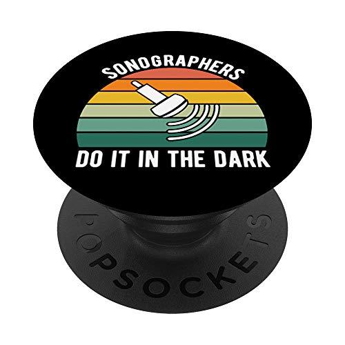 Sonographer Live Love Scan Ultrasound Tech PopSockets Agarre y Soporte para Teléfonos y Tabletas