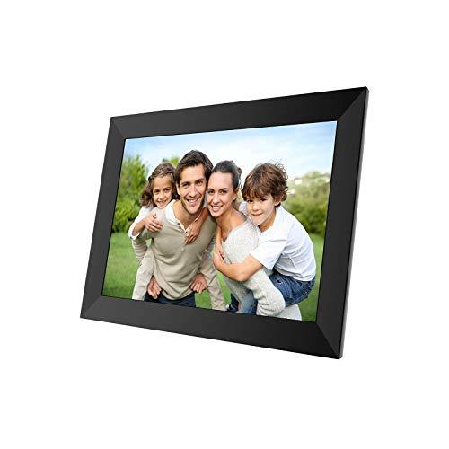 Docooler 10.1 Pulgadas Marco Digital Fotos,Pantalla IPS HD LCD Soporte 32GB Tarjeta TF Reloj/Calendario/Configuración de Hora/Música/Foto/Video.