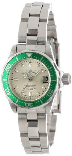 Invicta 14099 – Reloj de Cuarzo para Mujer, Correa de Acero Inoxidable