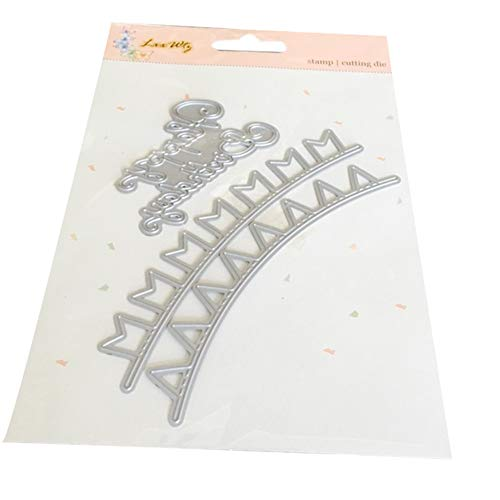 VEFSU Die Cuts Scrapbooking Cutting Dies Metal Set Kit for Cardmaking #03267, Accessories for Big Shot and Other Cutter Machine (A)