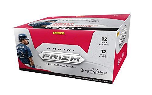 2020 Panini Prizm Baseball Hobby Box - Factory Sealed (3 Auto/Box)