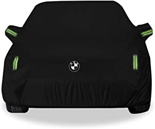 JINLINE Car Cover SUV Thick Oxford Cloth Sun Protection Rainproof Warm Car Cover for X4 Models Car Cover (Size : Oxford Cloth - Built-in lint)