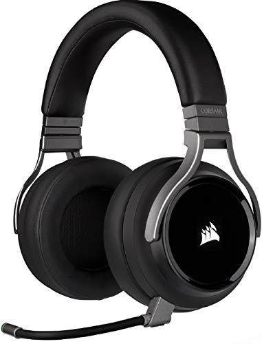 Corsair Virtuoso RGB Wireless High-Fidelity Gaming Headset (7.1 Surround...
