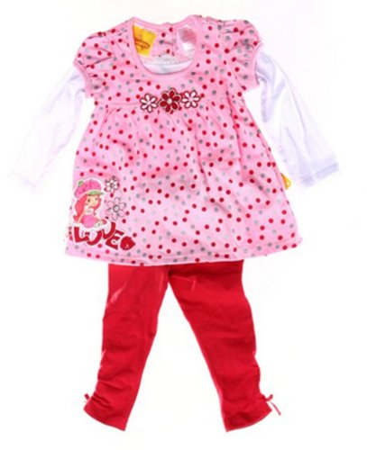 Strawberry Shortcake Infant/Toddler Girls 2pc Set Love (3T)