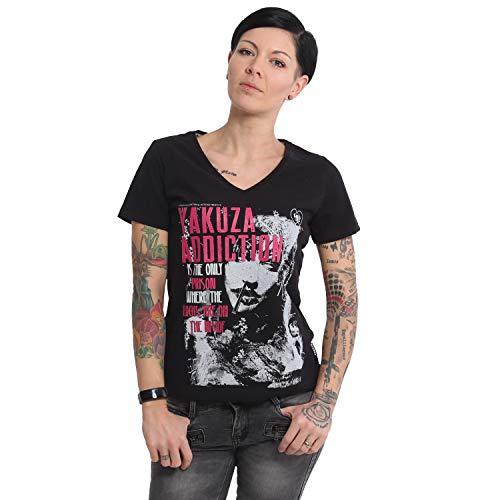 Yakuza Damen Addiction V-Neck T-Shirt