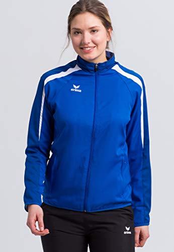 Erima GmbH Liga 2.0 Chaqueta de Presentación, Mujer, Azul (New Royal / True) / Blanco, 36