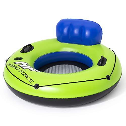 Bestway 43108 Hydro-Force Luxus Schwimmreifen mit Rückenlehne, 119 cm, color, 119x119cm