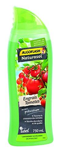 ALGOFLASH NATURASOL Engrais liquide Tomates, Bouchon doseur inclus, 750 ml, ALTOMBIO750