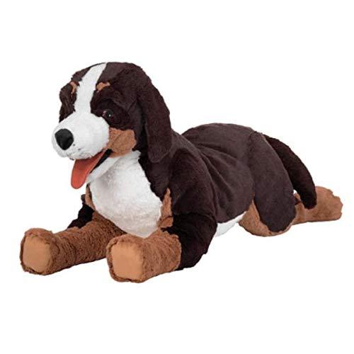 """IKEA Stofftier Berner Sennenhund \""""HOPPIG\"""" Plüschtier Hund - 63cm groß - sehr kuschelig - maschinenwaschbar - SICHERHEITSGETESTET"""