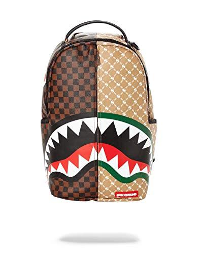 Sprayground Paris VS Florence Shark Backpack - Brown-One Size