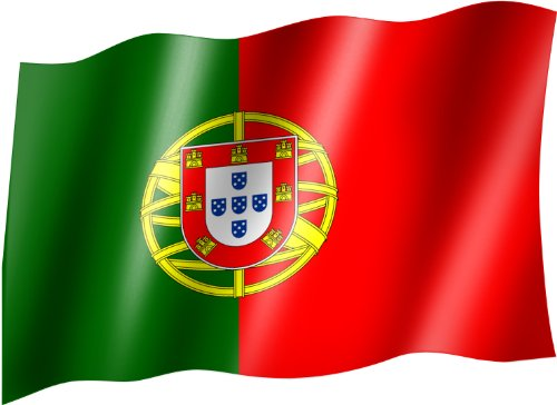 Flagge/Fahne PORTUGAL Staatsflagge/Landesflagge/Hissflagge mit Ösen 150x90 cm, sehr gute Qualität