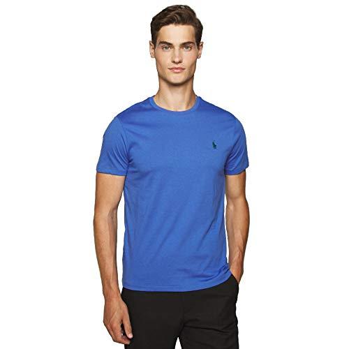 Ralph Lauren, Maglietta da uomo, vestibilità personalizzabile Azzurro XXL