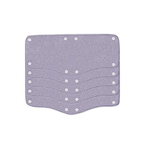 Mgichoom 5 piezas de repuesto para sombrero duro, banda de sudor de seguridad, ajustable, lavable, reutilizable, accesorios para la mayoría de cascos de seguridad de 13 x 25 cm