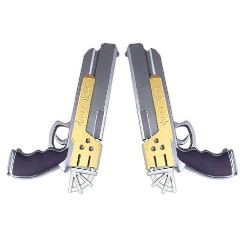 FINAL FANTASY X Cosplay Props Yuna Yuna 2th double guns