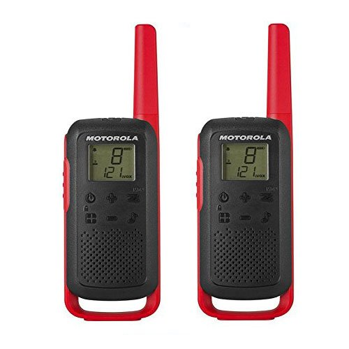 Motorola T62 PMR446 - Radio para walkie talkie (2 unidades)
