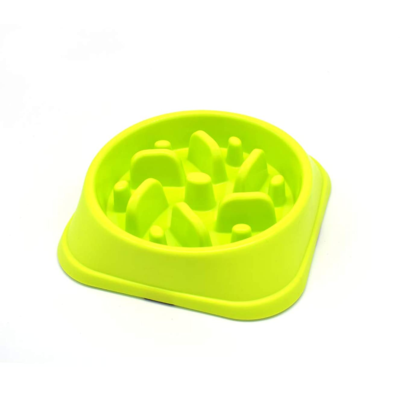 Dofyou Slow Feeder Dog Bowl, Non Slip Puzzle Bowl Fun Feeder Interactive Bloat Stop Dog Bowl, Slow Feed Pet Bowl for Large Medium Small Dogs
