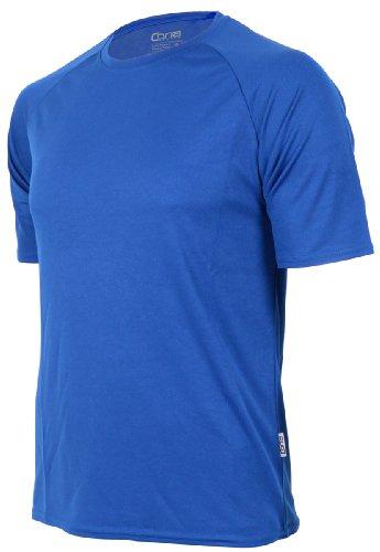T-shirt fonctionnel Cona Basic unisexe - Manches courtes - Disponible en 24 couleurs XXL Bleu foncé
