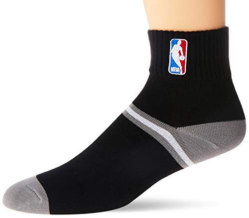 NBA Meia Cano Baixo, 39 - 43, Preto