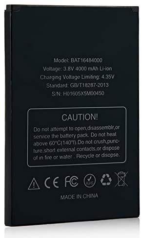 Todobarato24h Bateria Compatible con Doogee X5 MAX / X5 MAX Pro 4000 mAh 3.8v