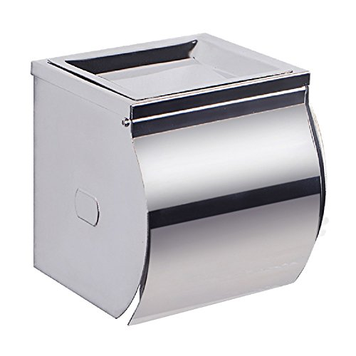 KES Bathroom Toilet Paper Holder/Tissue Holder Wall Mount SUS304 Stainless Steel Polished Finish A2071