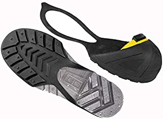 Safety Toe Cap Steel Toe Cover Overshoe with Natural Rubber Strap, Non-Slip Sole for Men and Women, CSA Attested and OSHA Approved, Medium, Yellow (8-10 US Men / 10-12 US Women) (M) by Oshatoes