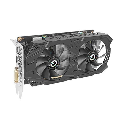 Gt1030 Grafikkarte, GeForce GTX 1060 3GB GDRR5 192-bit HDCP Unterstützung DirectX 12 Dual Fan VR Ready OC Grafikkarte (GTX 1060 3GT OC)