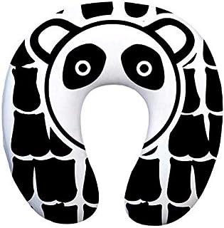 U en Forme de Panda imprimé Oreiller en Mousse à mémoire de Voyage Voyage Cou oreillers Soins de santé Appui-tête pour Voi...