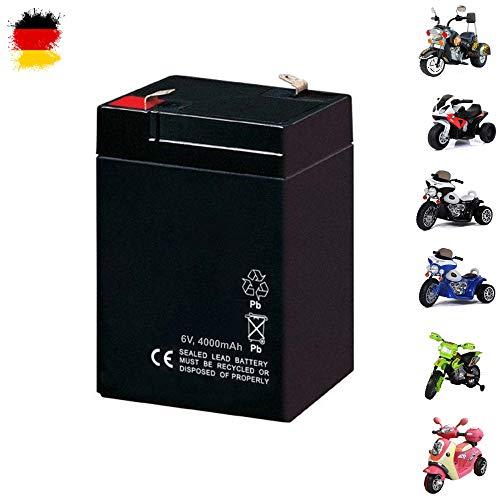 HSP Himoto Ersatzakku für Kindermotorrad, Kinder Elektromotorrad, Elektroroller, Motorrad, Ersatzteil, 6V, 4000mAh, Neu