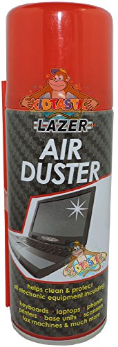400ml Air Duster With Straw Cleaning Cleaner For Keyboards, Dashboards, Computers, Scanners, Printers & Much More
