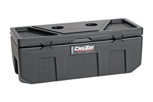 "Dee Zee 6535P 35"" x 13"" x 14"" Plastic Poly Utility Chest Tool Box"