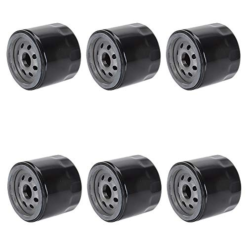Six (6) 492056 492932 696854 842921 Oil Filters Fits Briggs and Stratton 51056 Wix Mower